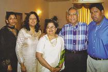 Kanchana & Family